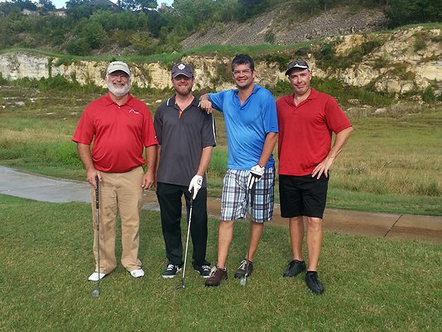 The JPM Enterprise Golf Team