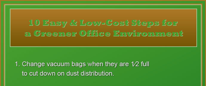 Green cleaning info graphic - green cleaning - the 10 best ways for green commercial cleaning